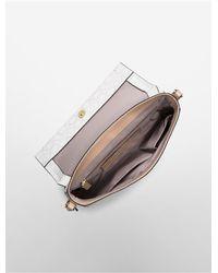 Calvin Klein   White Jordan Single Compartment Date Bag   Lyst