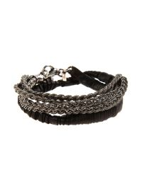 Emanuele Bicocchi | Black Bracelet for Men | Lyst