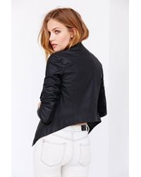 BB Dakota | Black Tamela Vegan Leather Jacket | Lyst