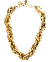 Ashley Pittman | Metallic Large Anchor Chain | Lyst