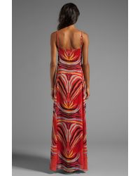 Mara Hoffman - Slip Gown in Red - Lyst