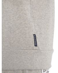 Armani Jeans - Gray Long Sleeve Hoodie With 81 Print for Men - Lyst