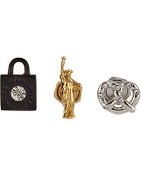Marc By Marc Jacobs | Black Stud Earrings 3-piece | Lyst