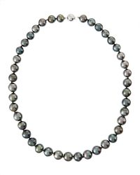 Belpearl - Black 14k Mixed Tahitian Pearl Necklace - Lyst