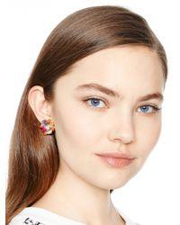 Kate Spade | Multicolor Cabochon Drop Earrings | Lyst