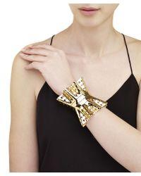 Arme De L'Amour | Metallic Large Ruffle Bracelet | Lyst