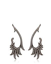 Joelle Jewellery - Black Elegance Earrings - Lyst
