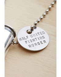 Forever 21 | Metallic Half United The Classic Necklace | Lyst