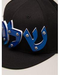 Adeen - Black Graphic Hat - Lyst