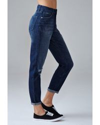 Forever 21 - Blue Girlfriend Jeans - Lyst