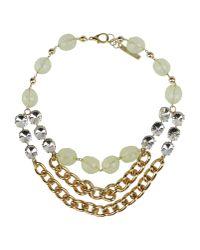 Angelo Marani | Metallic Necklace | Lyst