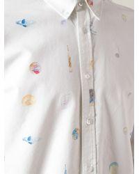 Soulland - White 'Mathias' Shirt for Men - Lyst