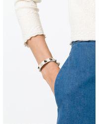 Valentino   Natural 'rockstud' Bracelet   Lyst