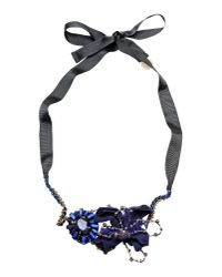 Liu Jo - Blue Necklace - Lyst