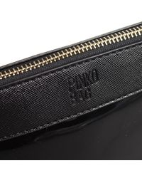 Pinko | Black Clutch Woman | Lyst