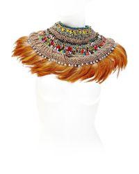 Anita Quansah London | Orange Ara Necklace | Lyst