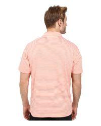 Vineyard Vines | Orange Feeder Stripe Jersey Polo for Men | Lyst