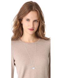 Helen Ficalora | Metallic Xox Charm - Silver | Lyst