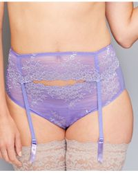 Wacoal | Purple Embrace Lace Bikini 64391 | Lyst