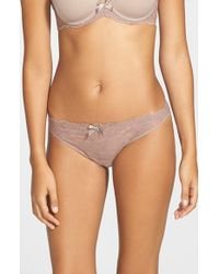 Chantelle | Brown 'rive Gauche' Bikini | Lyst