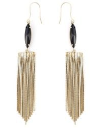 Iosselliani | Metallic 'black Hole Sun' Earrings | Lyst