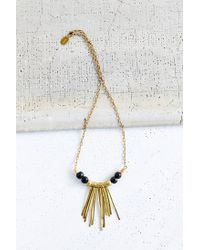 Urban Renewal - Metallic Tzunuum Nefertiti Necklace - Lyst