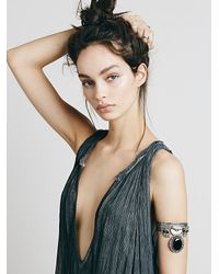 Free People | Black Stretch Upper Arm Band | Lyst