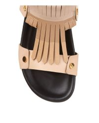 Chloé - Natural Cherry Blossom Leather Sandal - Lyst
