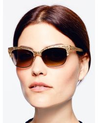 kate spade new york | Natural Shira Sunglasses | Lyst
