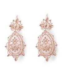 Vivienne Westwood - Metallic Isolde Earrings - Lyst