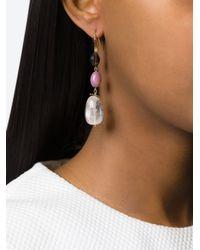 Isabel Marant | Multicolor 'sandwich Stone Again' Earrings | Lyst
