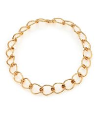 Giles & Brother - Metallic Small Cortina Loop Chain Necklace - Lyst