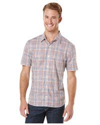 Perry Ellis - Red Multi-Plaid Shirt for Men - Lyst