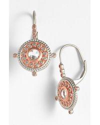 Freida Rothman | Pink Drop Earrings | Lyst