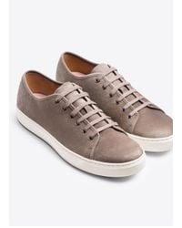 VINCE | Natural Austin Sport Suede Leather Sneaker for Men | Lyst