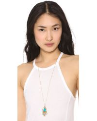 House of Harlow 1960 - Metallic Eye Of Wisdom Pendant Necklace - Lyst