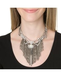 DANNIJO | Metallic Imogen Necklace | Lyst