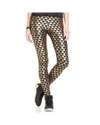 Material Girl | Juniors Metallic Leggings | Lyst
