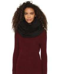 Bickley + Mitchell | Black Infinity Scarf | Lyst