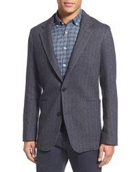 Billy Reid Gray 'thomas' Wool, Silk & Cashmere Blazer for men