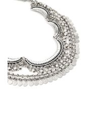 Forever 21 - Metallic Tribal-inspired Crescent Necklace - Lyst