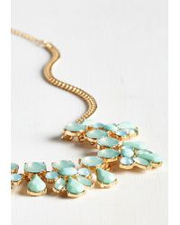 Ana Accessories Inc - Multicolor Glimmer Is Coming Necklace In Aqua - Lyst