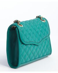 Rebecca Minkoff - Blue Azure Quilted Leather Mini Affair Shoulder Bag - Lyst