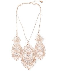 Vivienne Westwood - Metallic 'Isolde' Necklace - Lyst