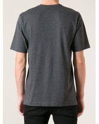 Dolce & Gabbana - Gray Kink Print T-Shirt for Men - Lyst