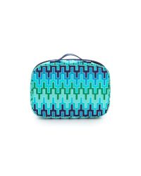 9d00412011 Tumi Lima Travel Toiletry Kit Blue Chevron in Blue - Lyst