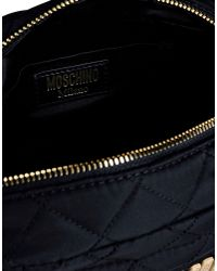 Moschino | Black Small Fabric Bag | Lyst