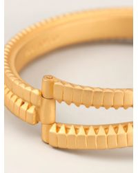 Eddie Borgo - Metallic Zip Bangle Bracelet - Lyst