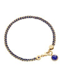 Astley Clarke - Blue Jean Genie Bracelet With Lapis Charm - Lyst
