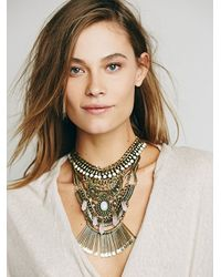 Free People | Black Womens Kingdom Statement Collar | Lyst